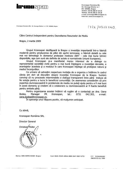 scrisoare_kronospan_cidrm